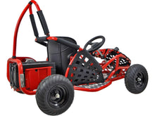 Load image into Gallery viewer, MotoTec Off Road Go Kart 48v 1000w-Black-Ride and Go Electrics