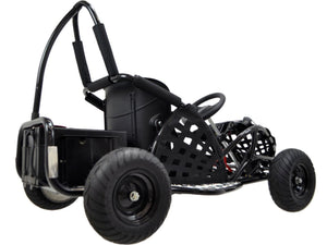 MotoTec Off Road Go Kart 48v 1000w-Black-Ride and Go Electrics