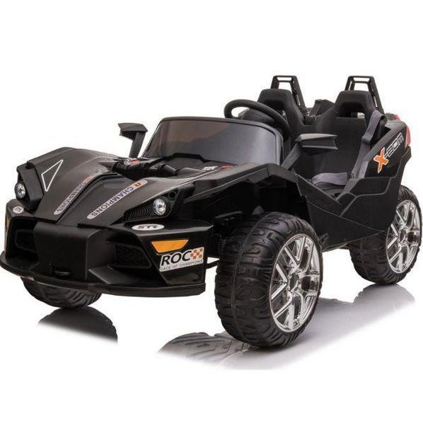 MotoTec Slingshot 12v Kids Car black