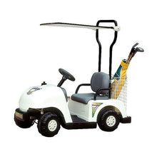 Load image into Gallery viewer, Junior Golf Cart 6vJunior Golf Cart 6v ride-on toy white
