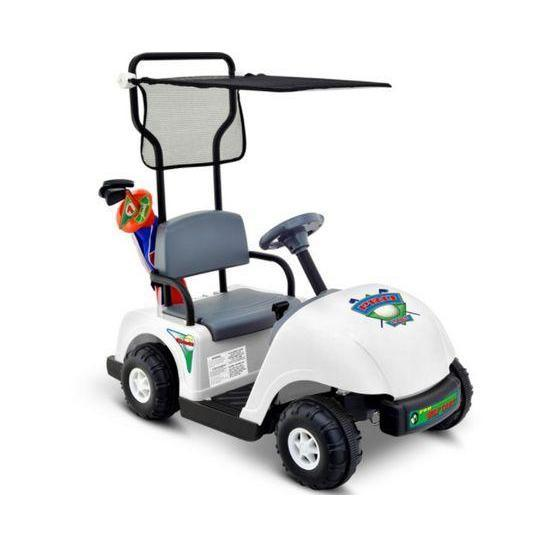 Junior Golf Cart 6v ride-on toy white