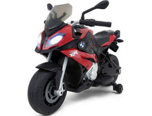 Load image into Gallery viewer, Rastar BMW S1000XR 12v Kids Electric Motorcycle red