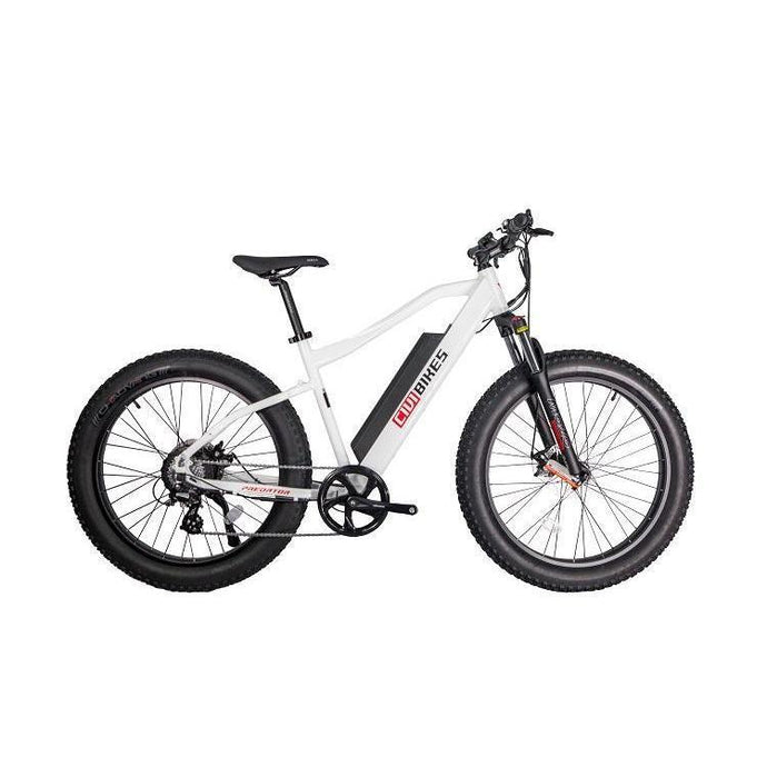 Revi Bikes Predator Electric Fat Tire Mountain Bike 48V 500W (pearl white)