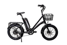 Load image into Gallery viewer, Revi Bikes Runabout 500W Fat Tire Electric Bike (obsidian black)