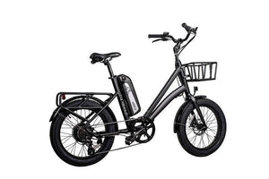 Revi Bikes Runabout 500W Fat Tire Electric Bike (obsidian black)