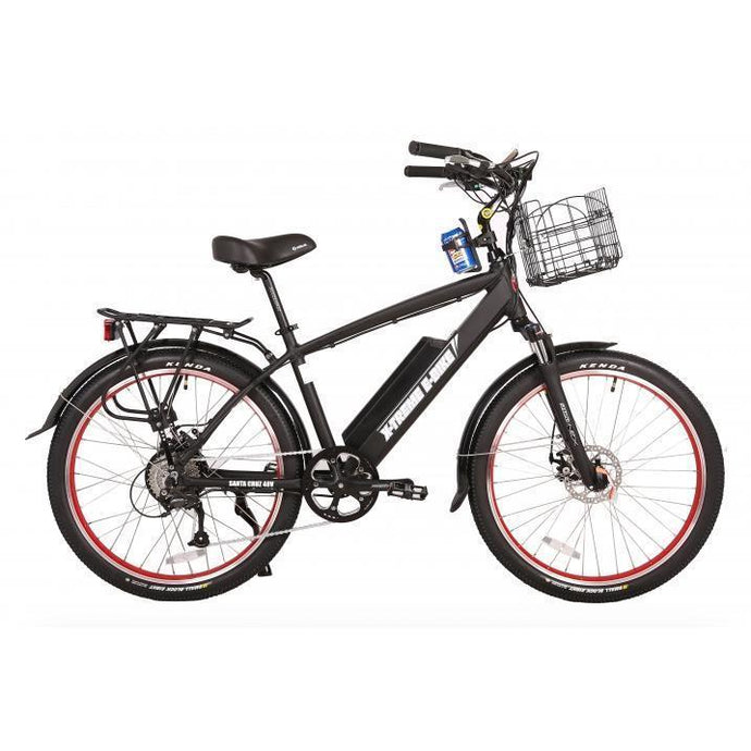 X-Treme Laguna Beach Cruiser 48V Electric Bike (black)
