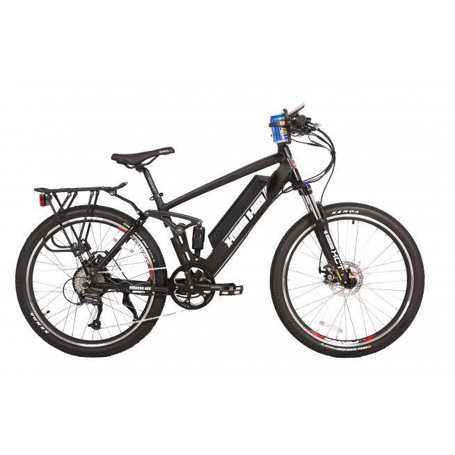 X-Treme Rubicon 48V Rear Shock Electric Mountain Bike (black)