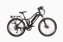 Load image into Gallery viewer, X-Treme Sedona 48V Electric Step-Through Mountain Bike (black)