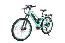 Load image into Gallery viewer, X-Treme Sedona 48V Electric Step-Through Mountain Bike (mint green)