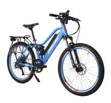 Load image into Gallery viewer, X-Treme Sedona 48V Electric Step-Through Mountain Bike (baby blue)