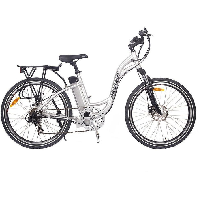 X-Treme Trail Climber Elite 24V Step-Through Electric Mountain Bike (aluminum)