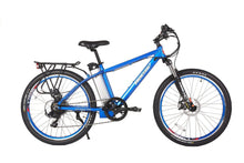 Load image into Gallery viewer, X-Treme Trail Maker Elite 24V Electric Mountain Bike (metallic blue)