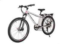 Load image into Gallery viewer, X-Treme Trail Maker Elite 24V Electric Mountain Bike (metallic white)