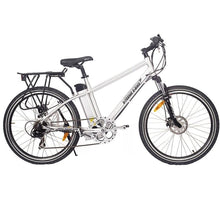 Load image into Gallery viewer, X-Treme Trail Maker Elite 24V Electric Mountain Bike (polished aluminum)
