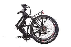 X-Treme X-Cursion Elite 24V Full-Suspension Folding Electric Mountain Bike (black)