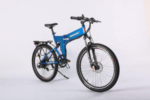 X-Treme X-Cursion Elite Max 36V Folding Electric Mountain Bike--Ride and Go Electrics