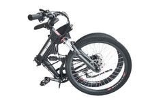Load image into Gallery viewer, folded X-Treme XC-36 Electric Folding Mountain Bicycle (black)