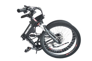 folded X-Treme XC-36 Electric Folding Mountain Bicycle (black)