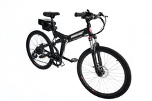 Load image into Gallery viewer, X-Treme XC-36 Electric Folding Mountain Bicycle (black)