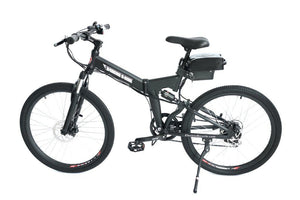 X-Treme XC-36 Electric Folding Mountain Bicycle (black)