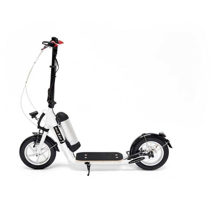Zümaround MiniZüm Electric Scooter-White-minizum-white-Ride and Go Electrics