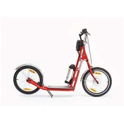 Zümaround Züm Electric Scooter-Red-zum-red-Ride and Go Electrics
