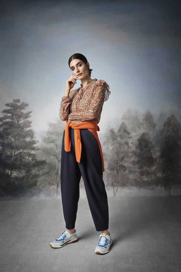 Rich & Royal - Trousers with elasticated waistband - campaign image
