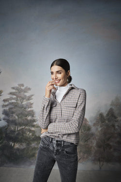 Rich & Royal - Vintage straight-cut jeans with yoke - campaign image