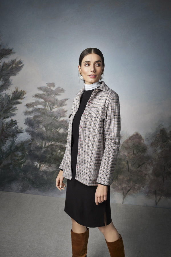 Rich & Royal - Minimalist knitted dress with slits - campaign image