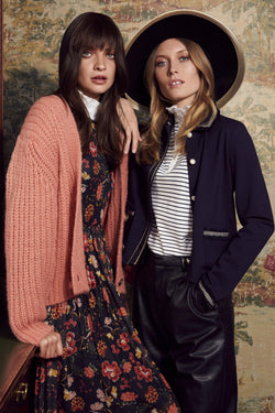 Rich & Royal - Coarse-knit cardigan - campaign image