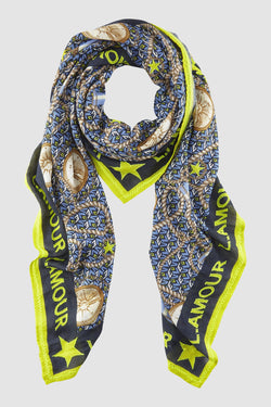 L' AMOUR statement scarf