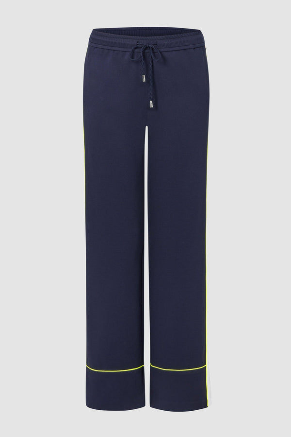 Jogger-style trousers with athleisure stripes