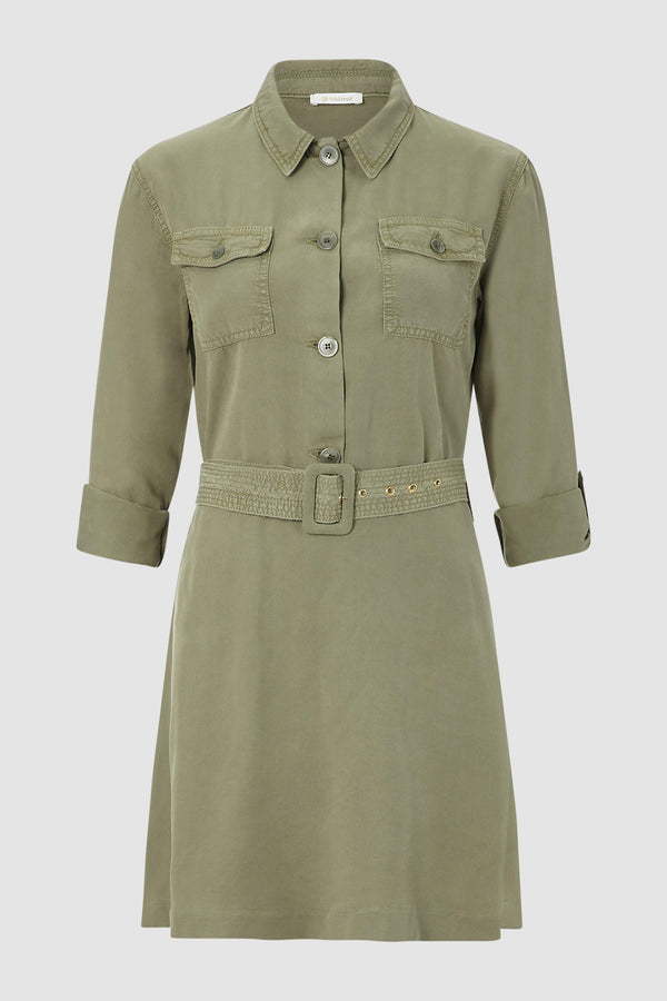 Safari dress with belt