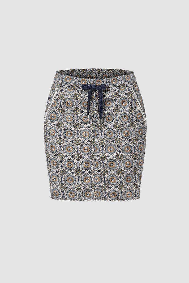 Mini skirt with decorative details