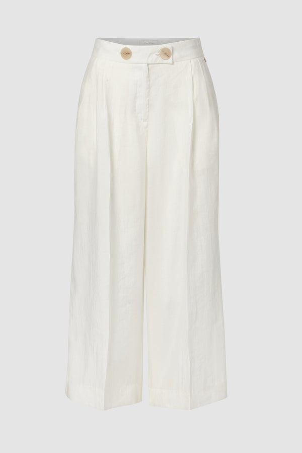 Lightweight culottes with pleats