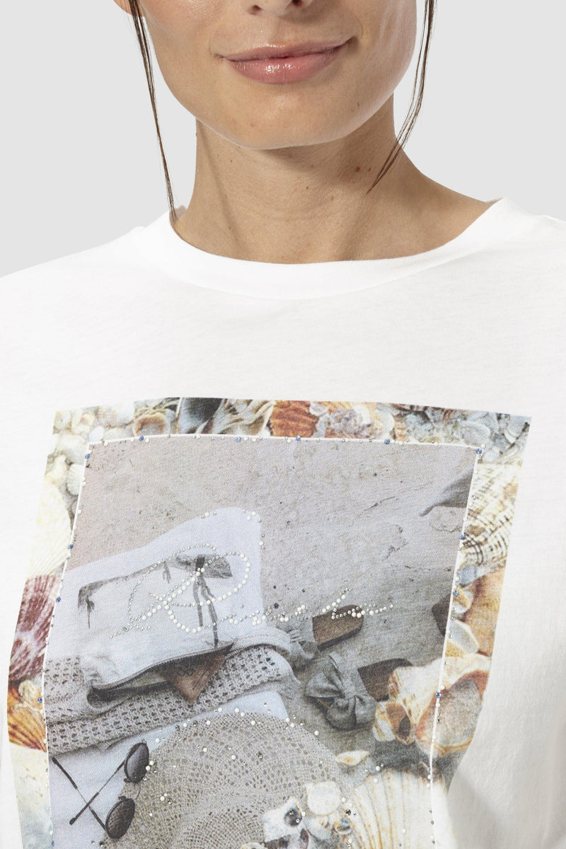 T-shirt with photo print