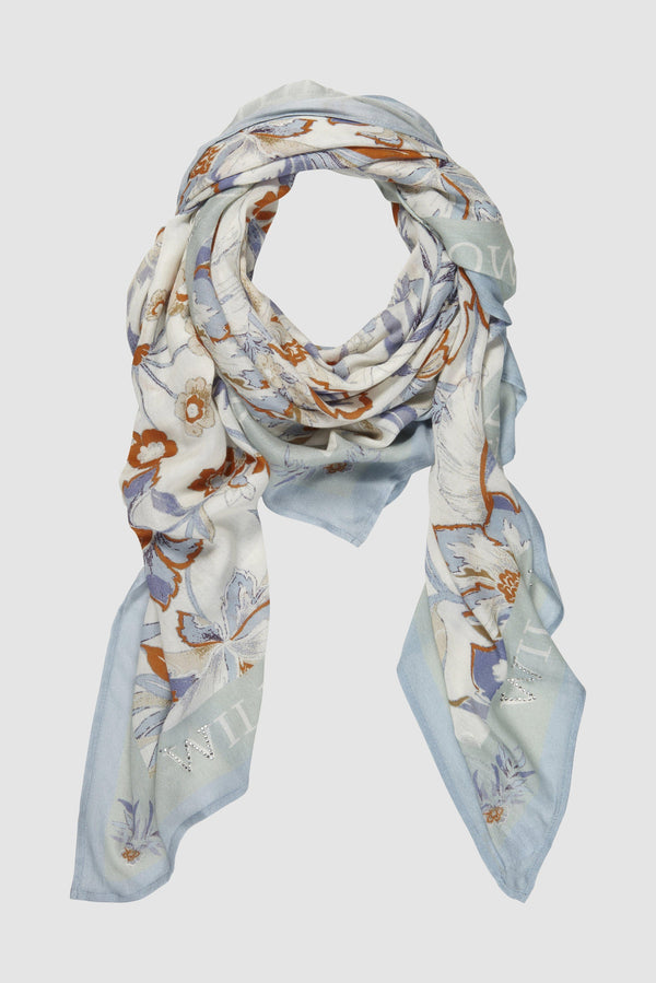 Rich & Royal - Scarf with floral print - bust