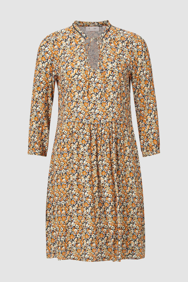 Rich & Royal - Floral dress with glitter details - bust