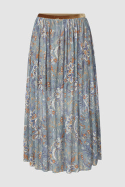 Rich & Royal - Mesh skirt with floral print - bust