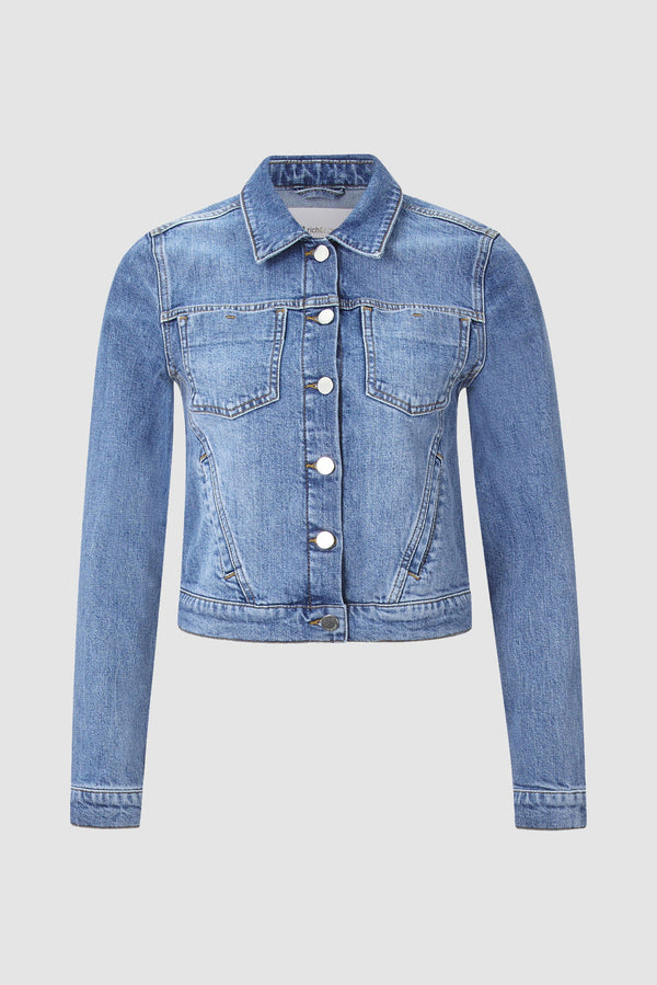 Rich & Royal - Denim jacket with patch pockets - bust
