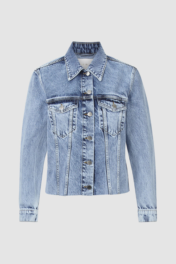 Rich & Royal - Oversized denim jacket - bust