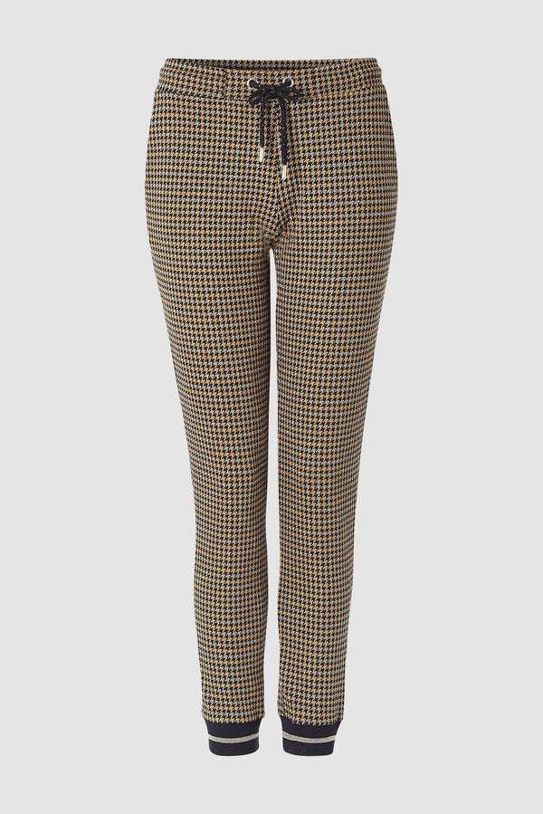 Rich & Royal - Jacquard leisure trousers - bust