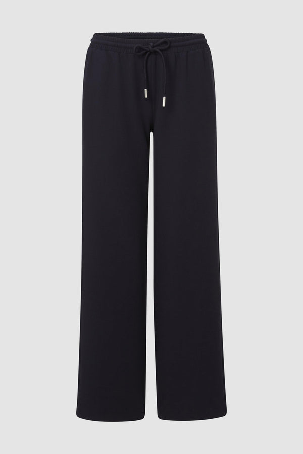 Casual leisure trousers with tie cord