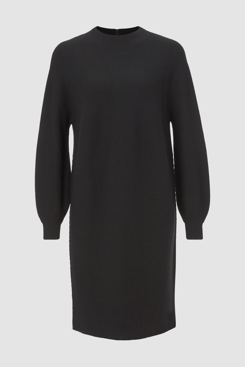 Rich & Royal - Minimalist knitted dress with slits - bust