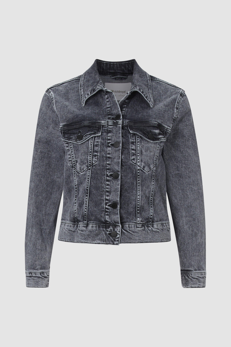 Rich & Royal - Classic denim jacket - bust