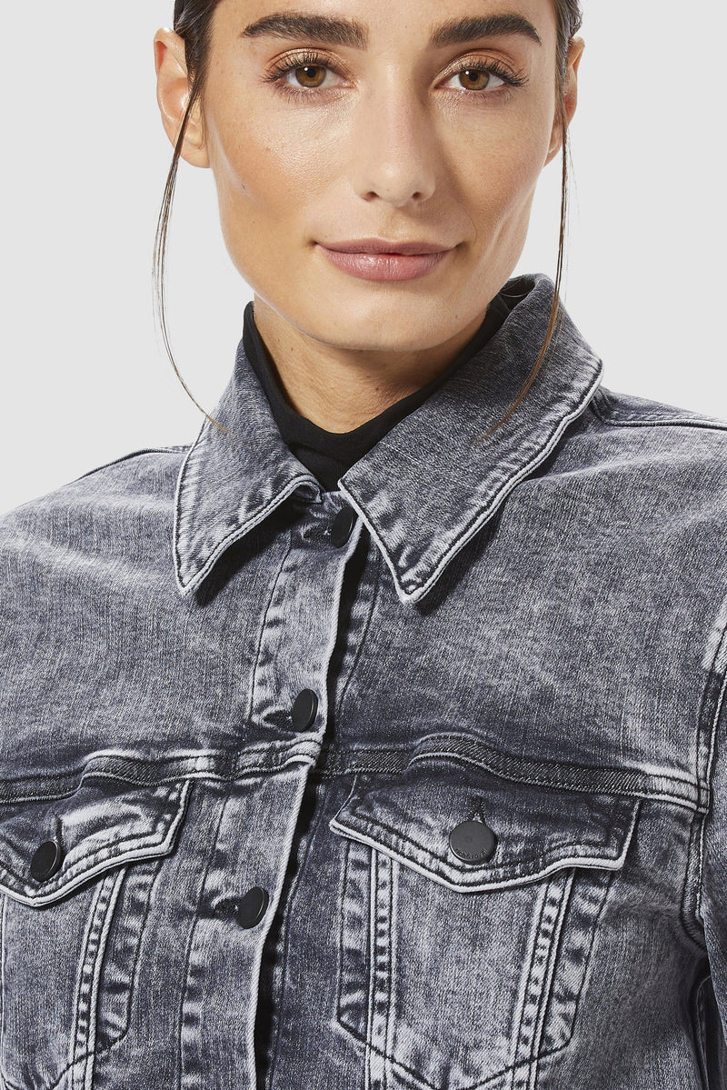 Rich & Royal - Classic denim jacket - detail view