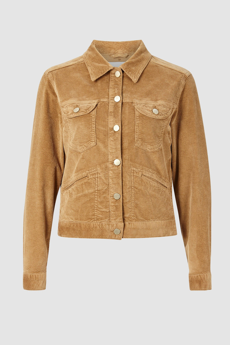 Rich & Royal - Corduroy jacket with metal buttons - bust
