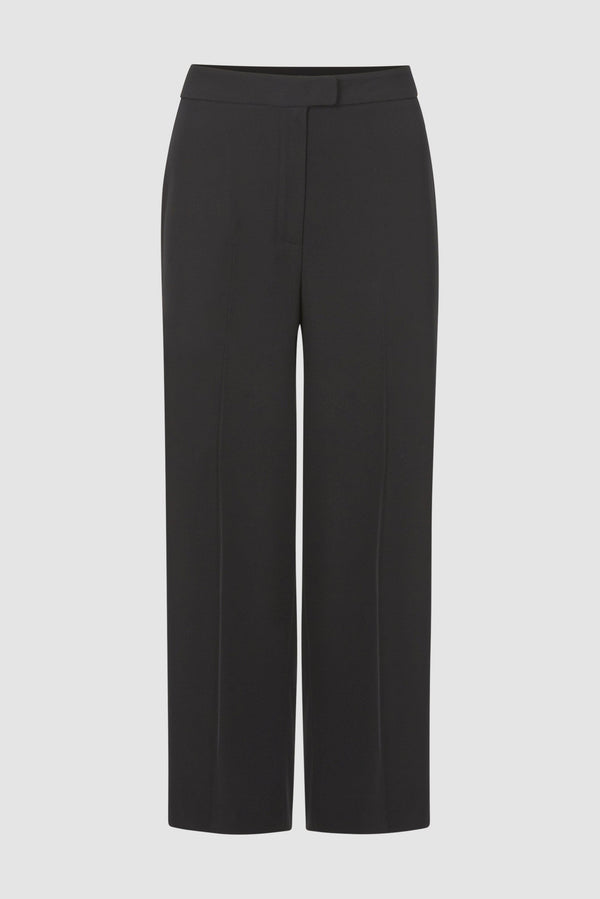 Rich & Royal - Wide-legged trousers with pre-pressed creases - bust