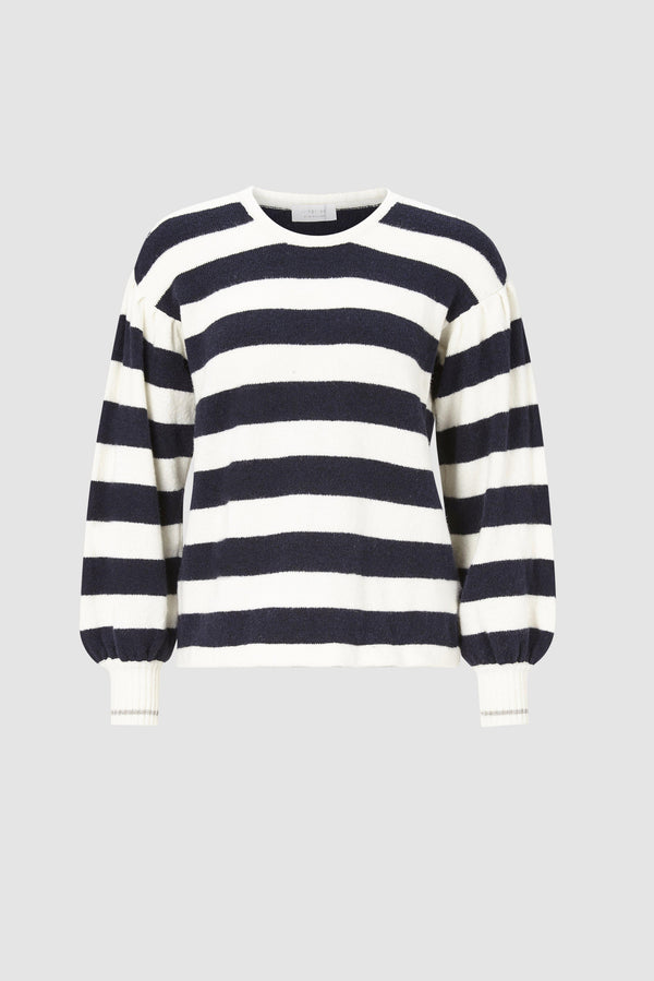 Rich & Royal - Crew neck striped - bust
