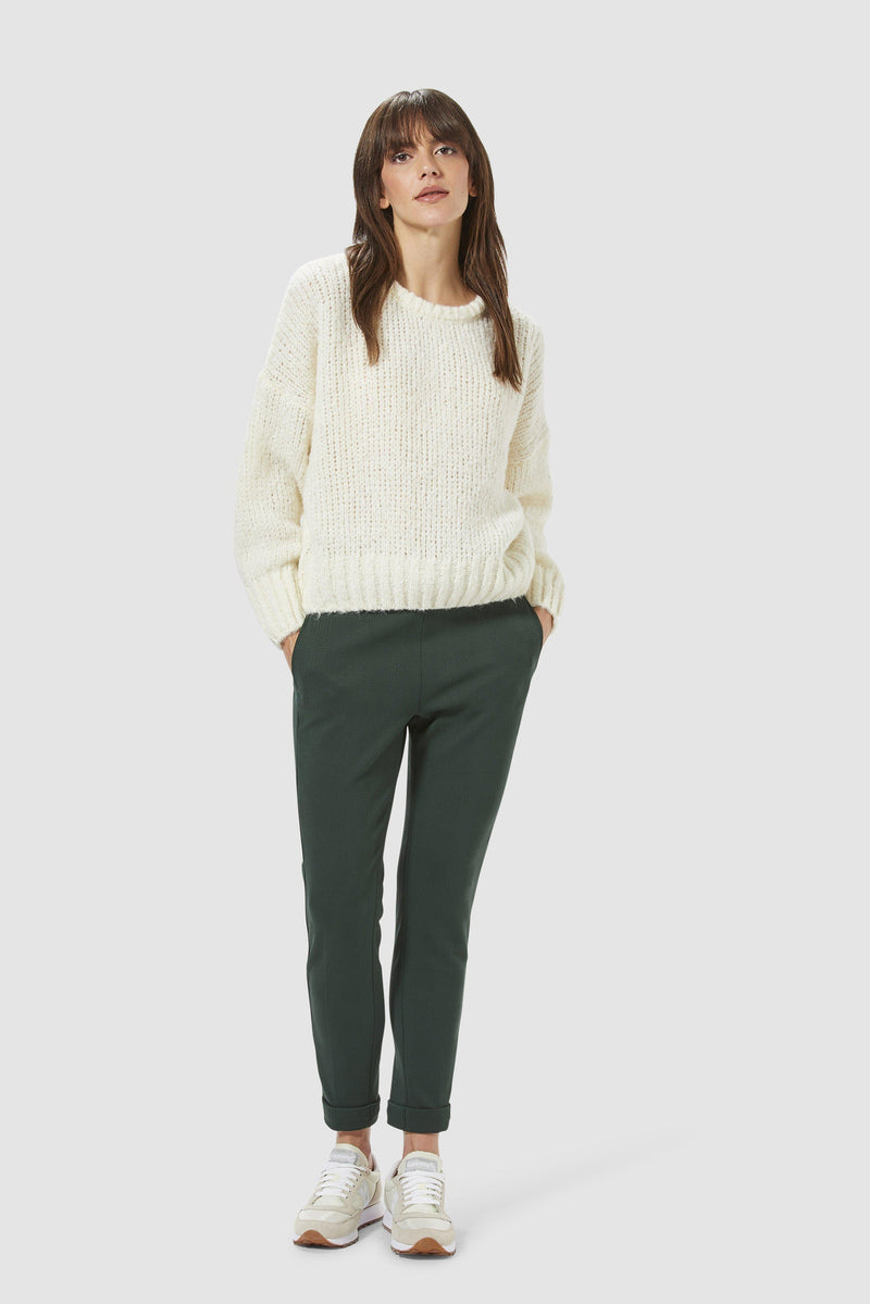 Rich & Royal - Casual round-necked jumper - model image front